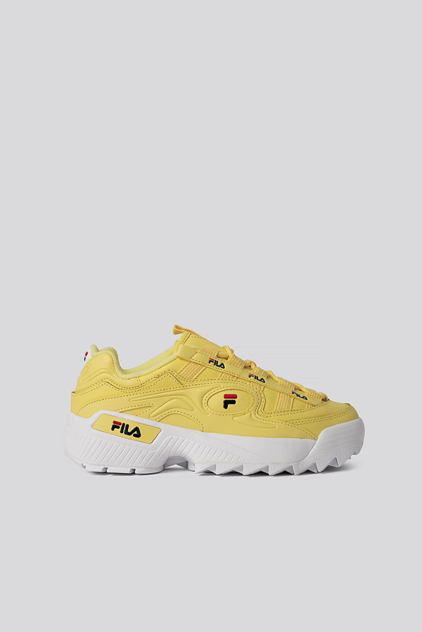 Fila D-Formation Sneakers gul