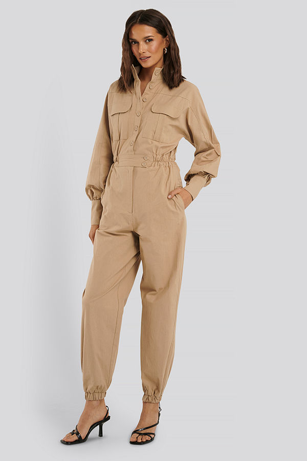 Trendyol Jumpsuit beige