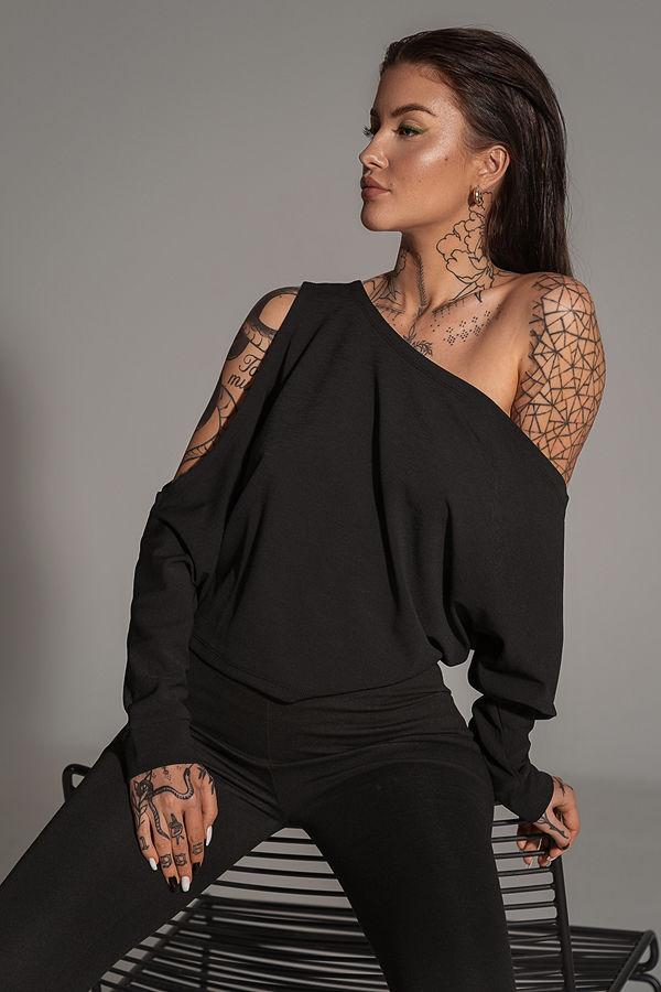 Olivia Salo x NA-KD Topp svart