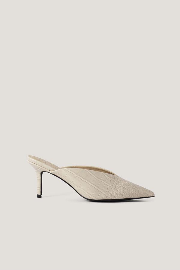 NA-KD Shoes Mules beige