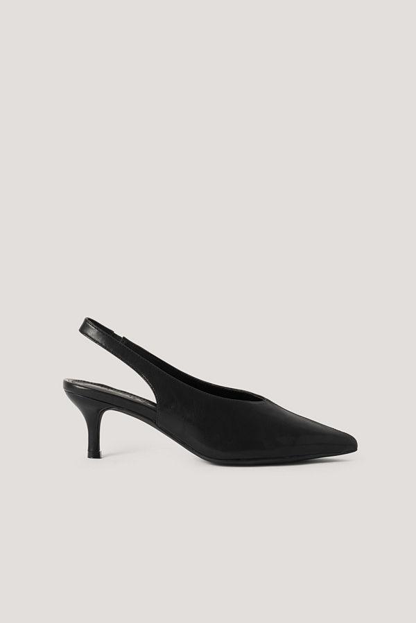 NA-KD Shoes Baspumps Med Slingback svart