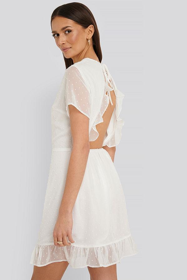 Rut & Circle Miniklänning vit