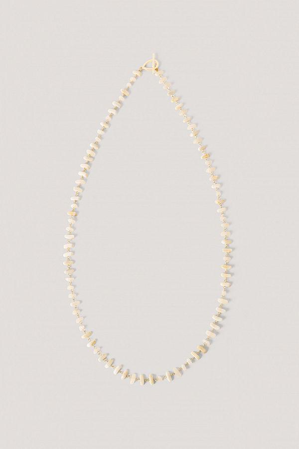 NA-KD Accessories smycke Stenhalsband beige