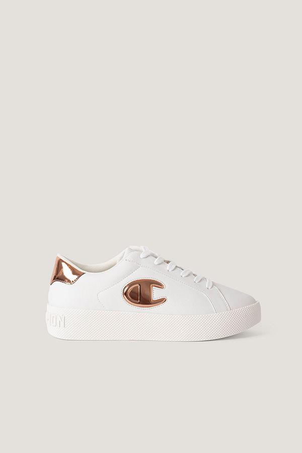 Champion Klassiska Sneakers vit