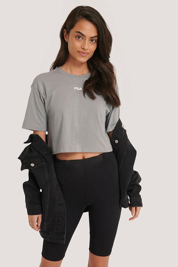 Fila Oversize T-Shirt grå