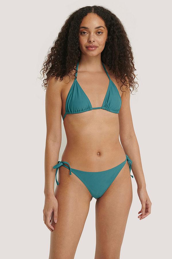 NA-KD Swimwear Triangle Panty turkos