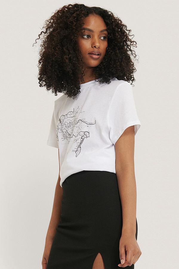 NA-KD Trend T-Shirt vit