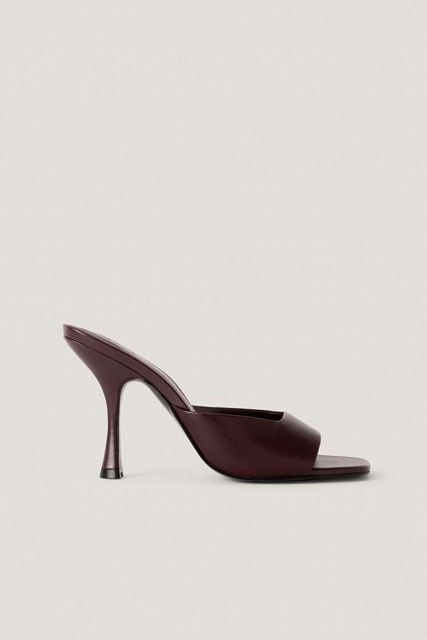 Mango Lute Sandals röd