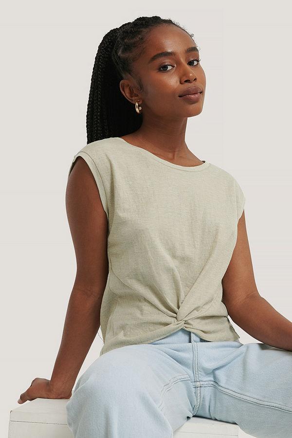 Mango T-Shirt beige
