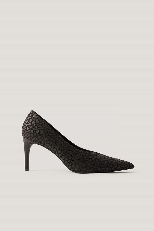 NA-KD Shoes Spetsiga Pumps Med V-Skärning svart