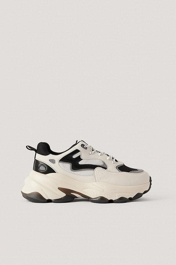 NA-KD Shoes Chunky Gympaskor Med Kontrastdetalj multicolor
