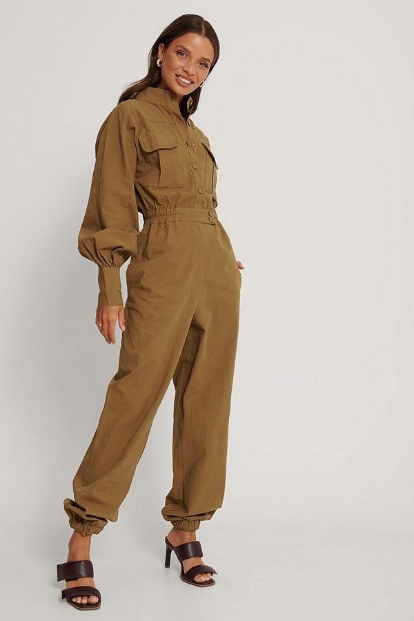 Trendyol Jumpsuit brun