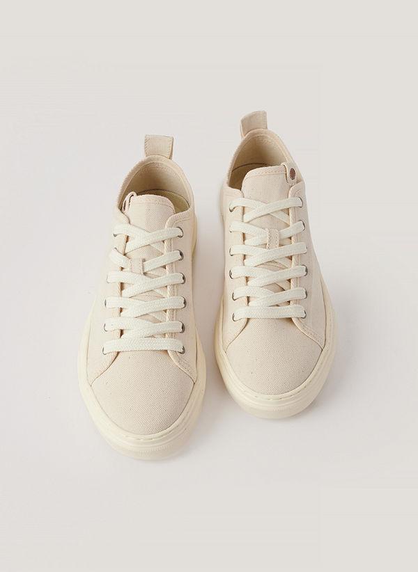 Zouri Shoes Klassiska Sneakers offvit