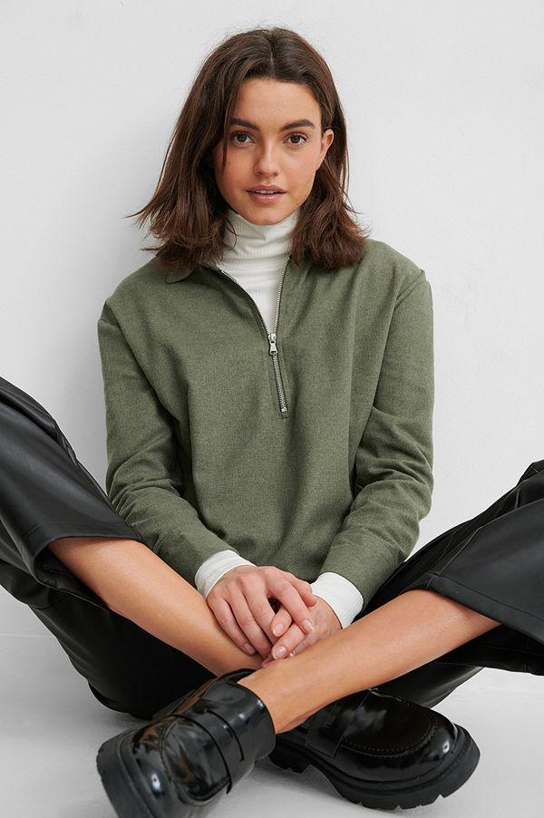 Trendyol Skjorta grön