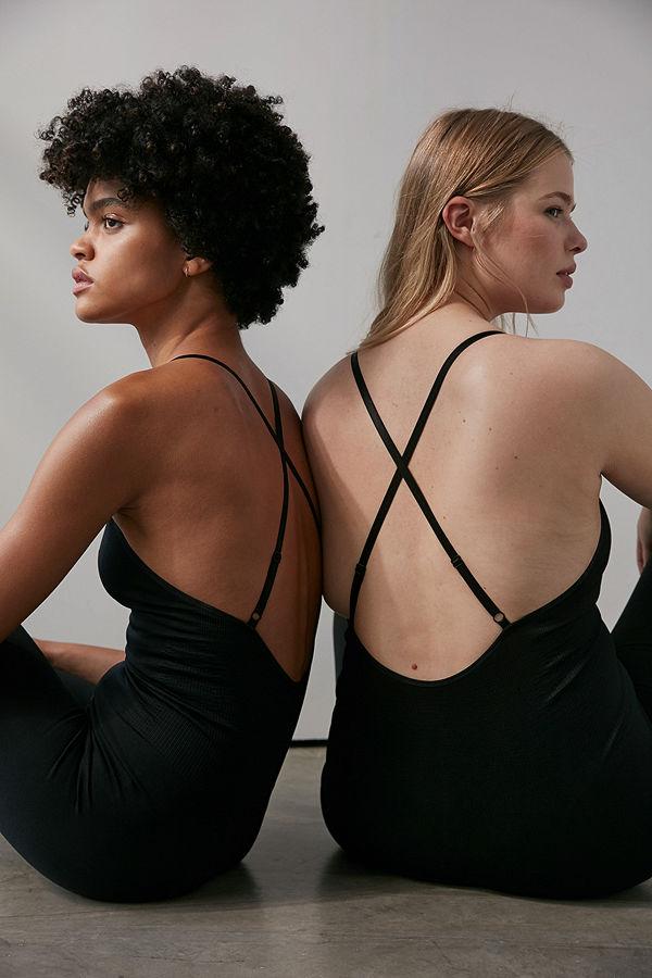 NA-KD Flow Sömlös Bodysuit svart