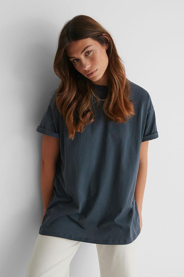 NA-KD Ekologisk Oversize T-shirt svart