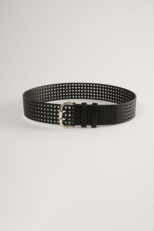 NA-KD Accessories Midjebälte svart