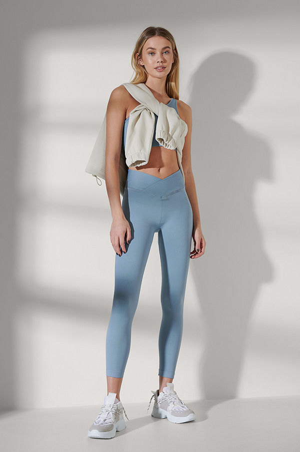 NA-KD Flow Leggings svart