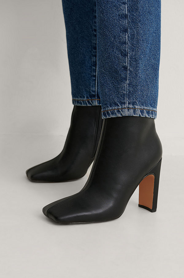 NA-KD Shoes Ankelboots svart