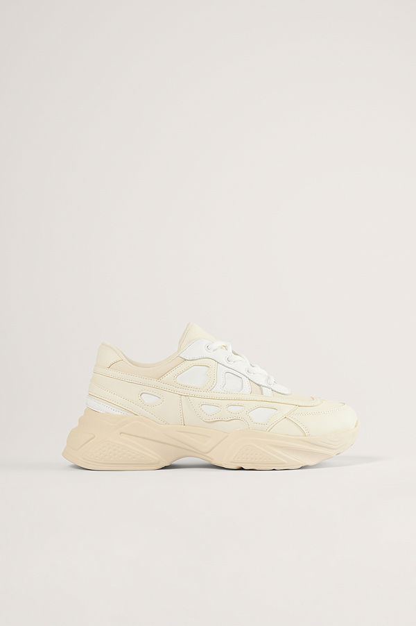 NA-KD Shoes Structured Upper Sneakers offvit