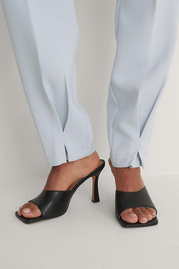 NA-KD Shoes Mules svart