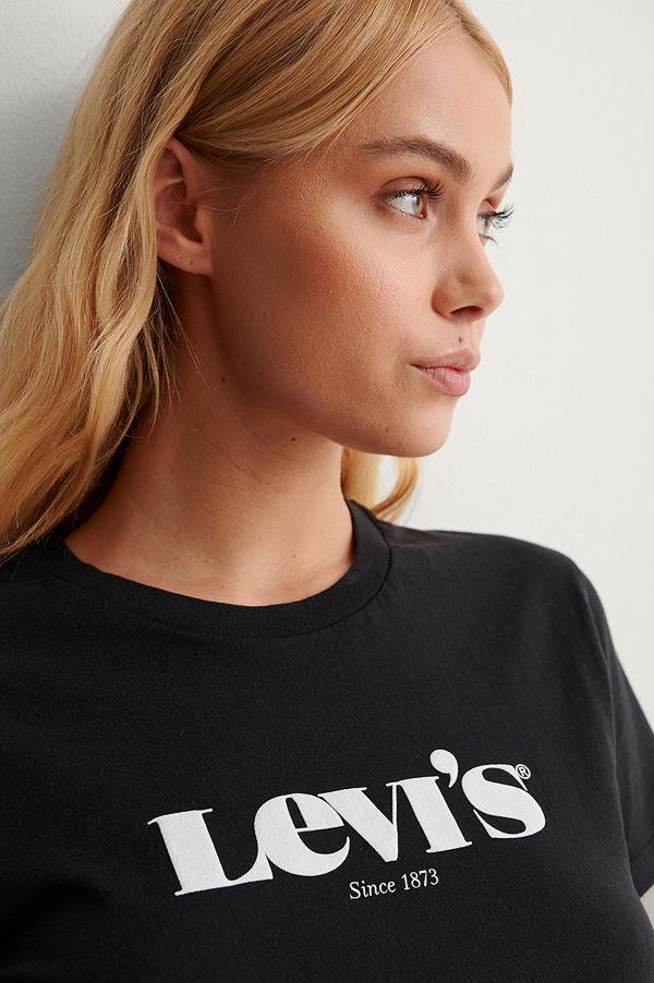 Levi's T-Shirt Med Logga svart