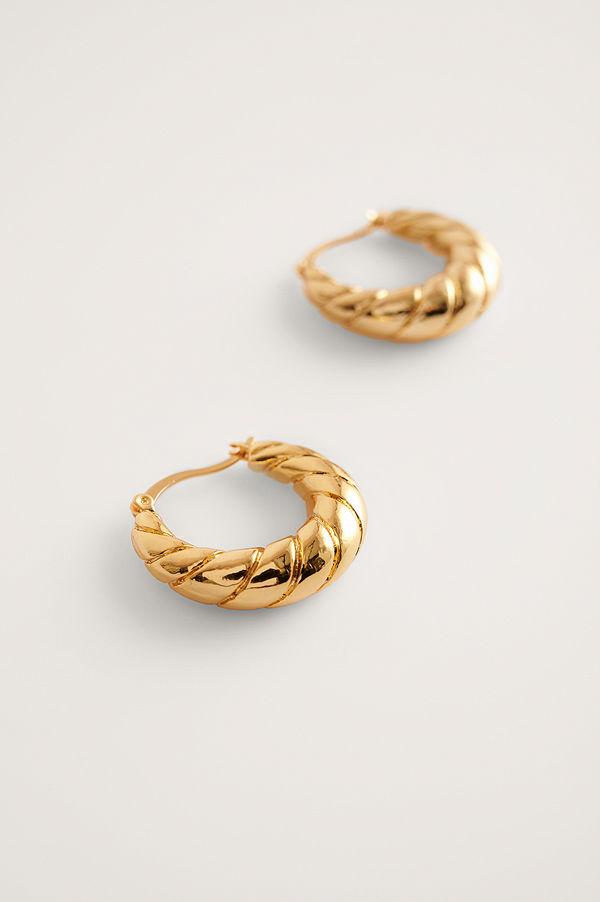 Mango smycke Gabriel Earrings guld