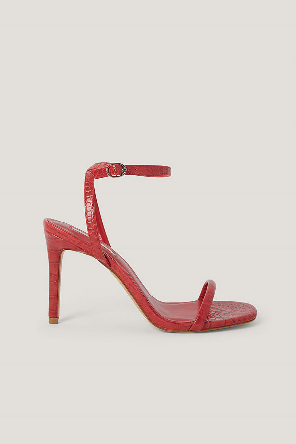Mango Sandaler röd