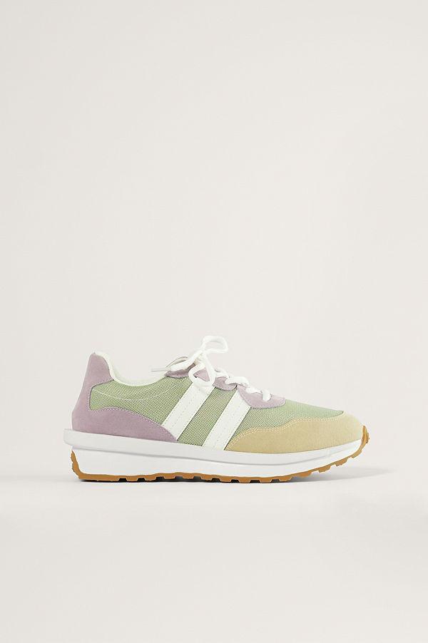 NA-KD Shoes Retro Daddysneakers multicolor