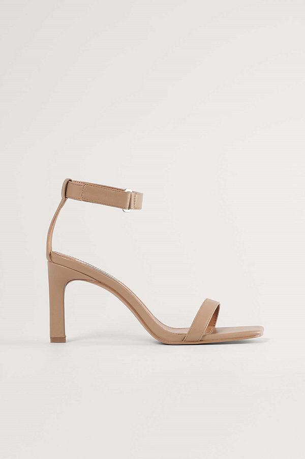 NA-KD Shoes Sandaler beige
