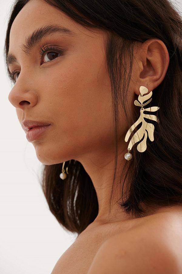 NA-KD Accessories smycke Örhängen guld