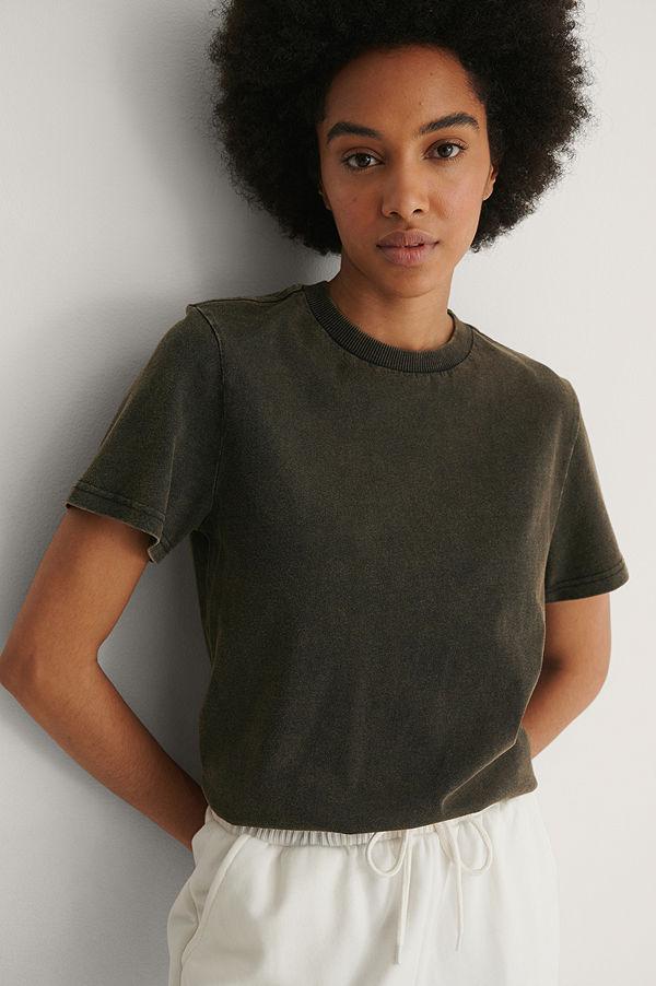 Dr. Denim Kortärmad T-Shirt svart