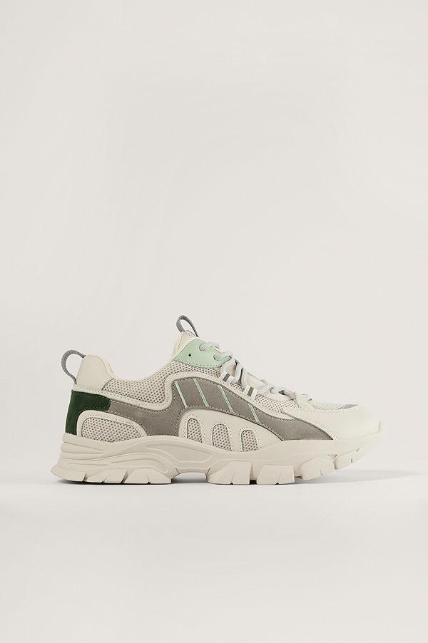 NA-KD Shoes Trekking Sole Sneakers grå