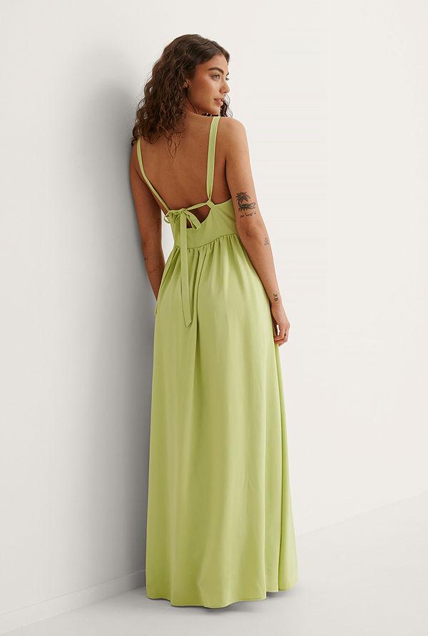 Curated Styles Maxiklänning grön