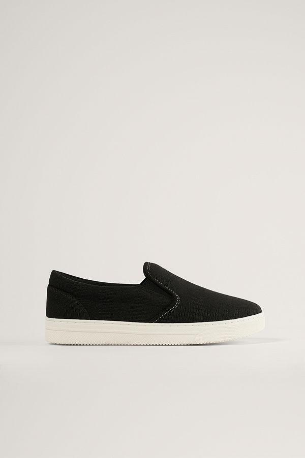 NA-KD Shoes Slip-In-Träningssko svart