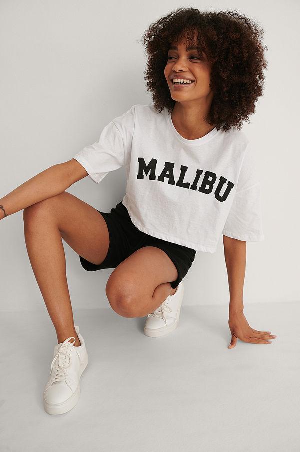 Trendyol Tryckt T-shirt vit