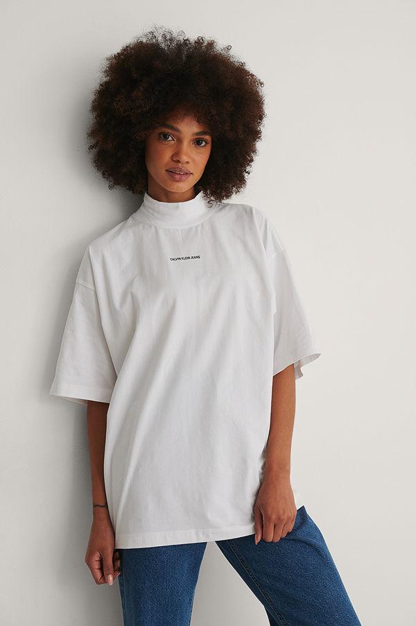 Calvin Klein Ekologisk T-shirt vit