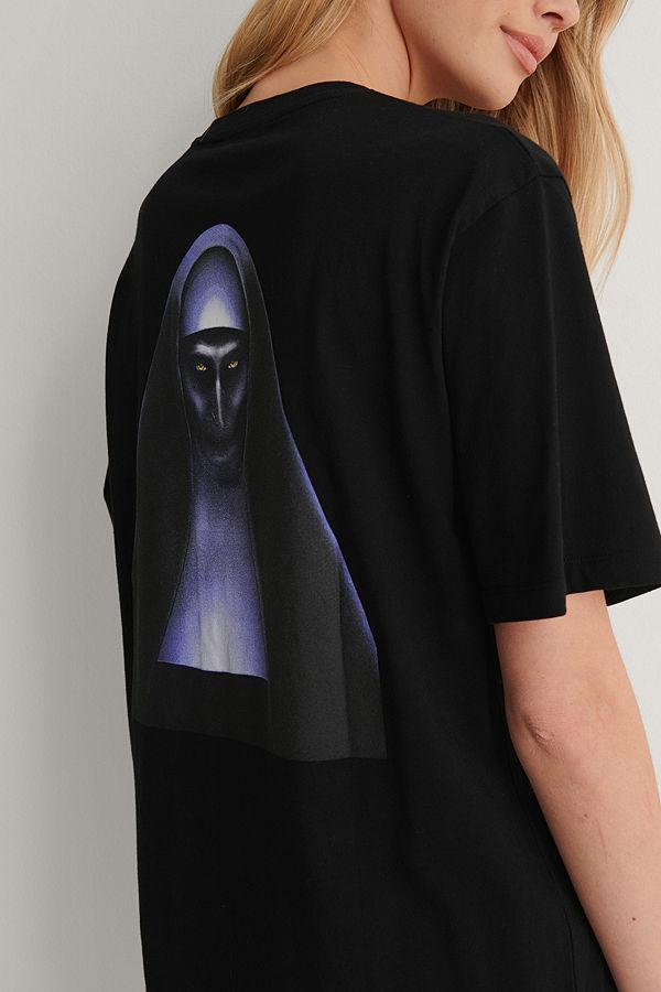 Warner Bros. Unisex T-Shirt Med Tryck svart