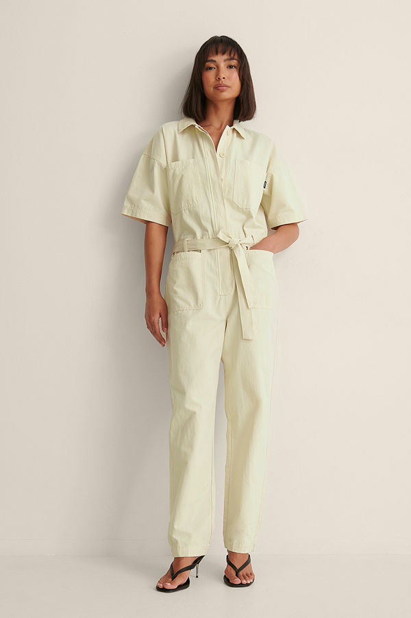Dr. Denim Boiler Suit beige