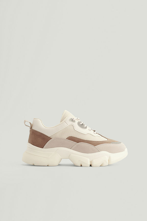 NA-KD Shoes Chunky Träningsskor Med Rundad Sula multicolor