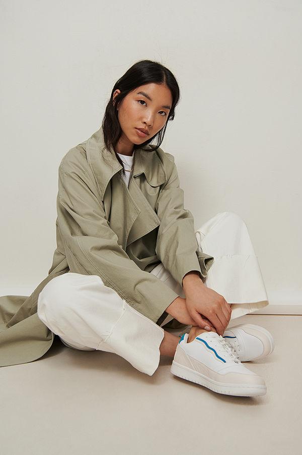 NA-KD Shoes Färgglada Tennisskor blå