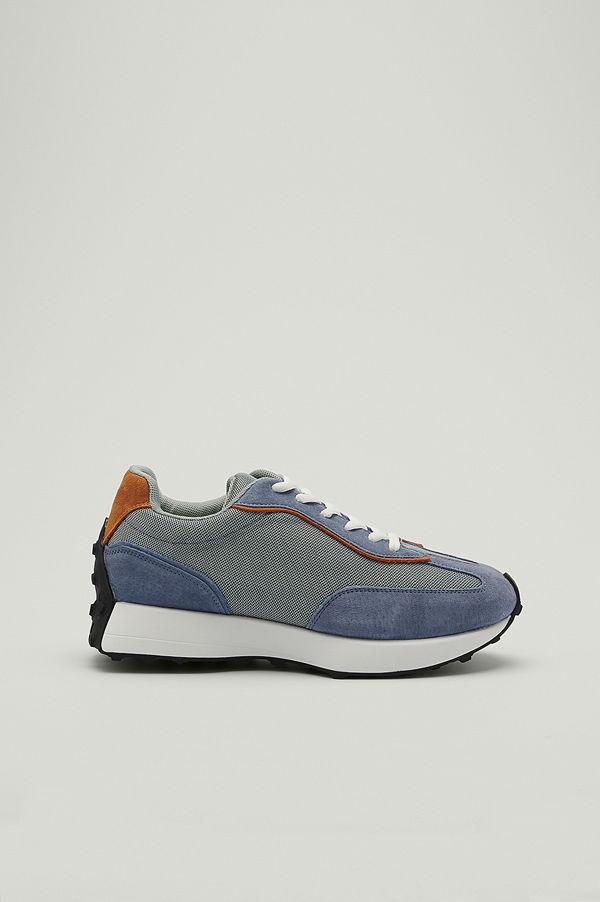 NA-KD Shoes Gympaskor med smal strukturerad sula lila