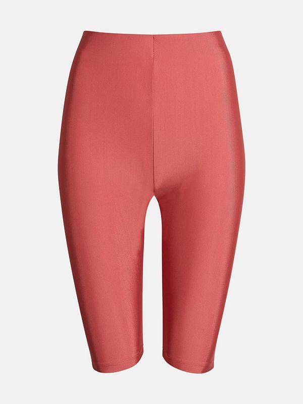 Bik Bok Bike shorts - Melerad vinröd