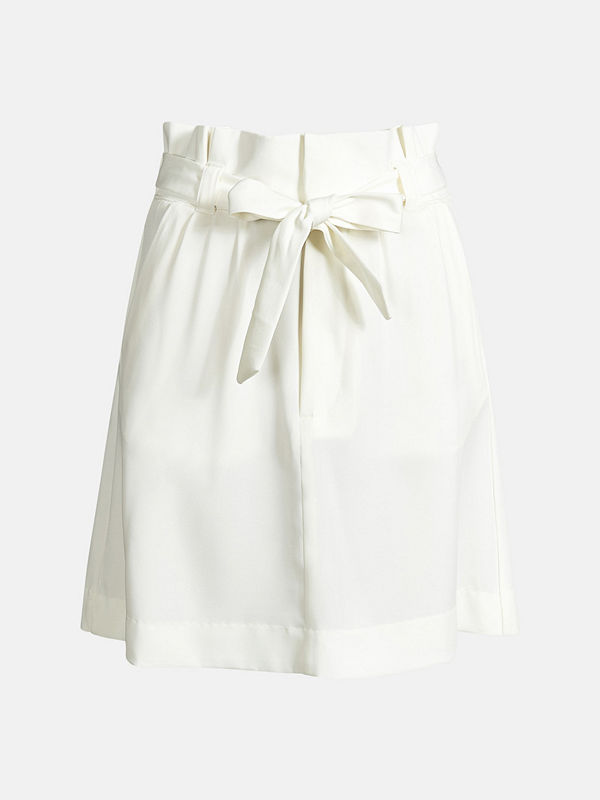 Bik Bok Wingy paper bag skirt - Offwhite