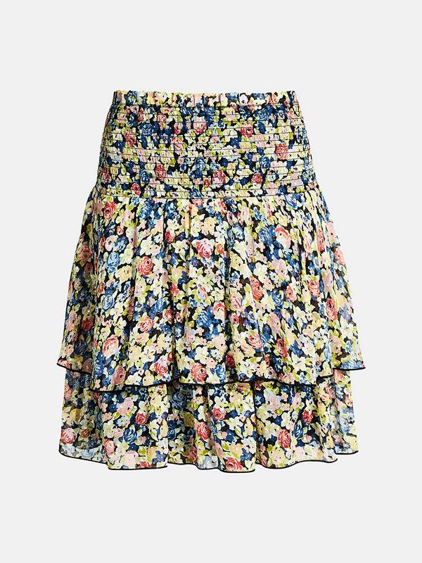 Bik Bok Lucky chiffon skirt - Multi