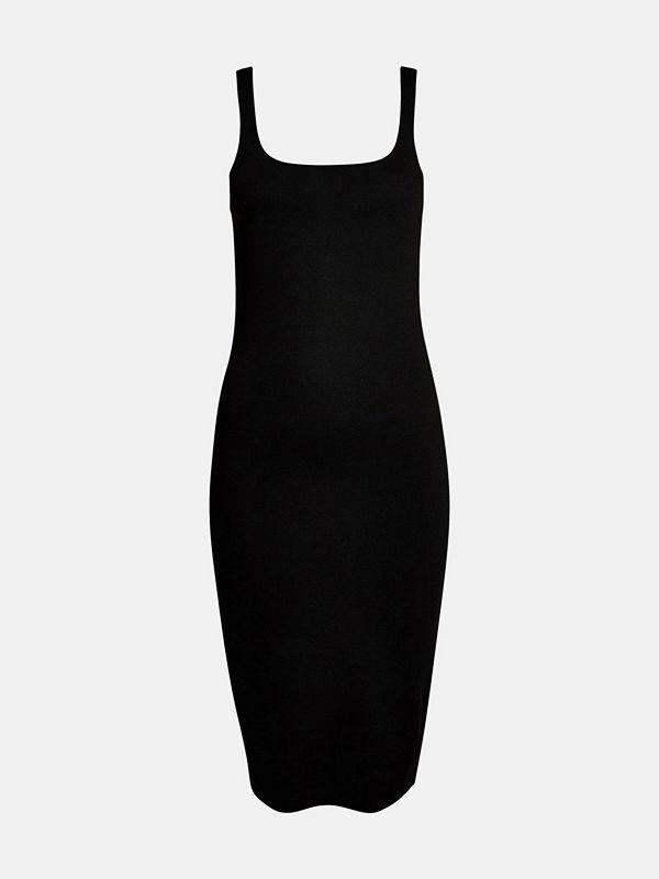 Bik Bok Akara fitted dress - Svart
