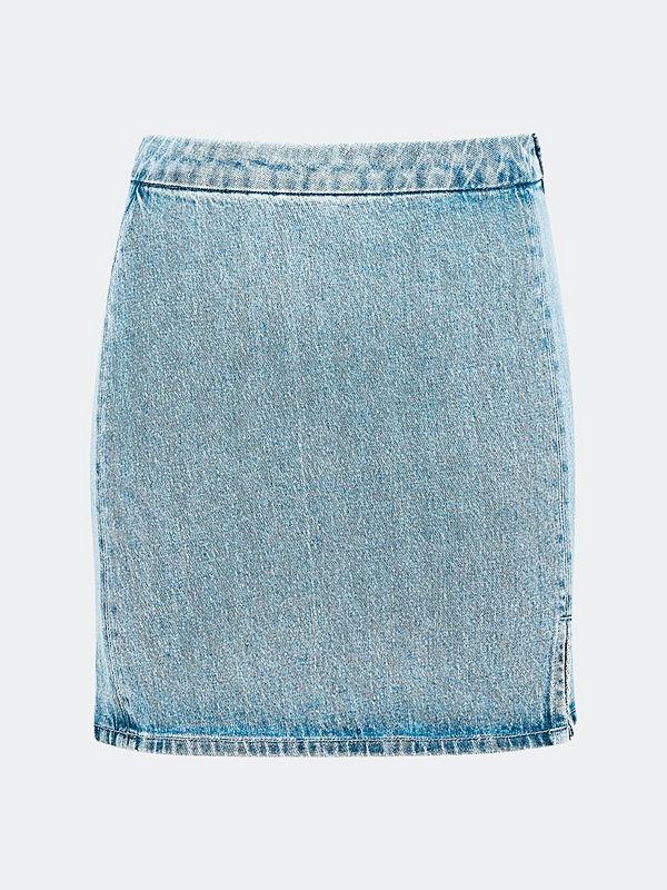 Bik Bok Kenny jeanskjol - Blå
