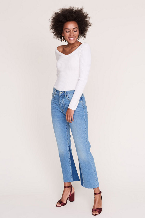 Gina Tricot Laura kick flare jeans