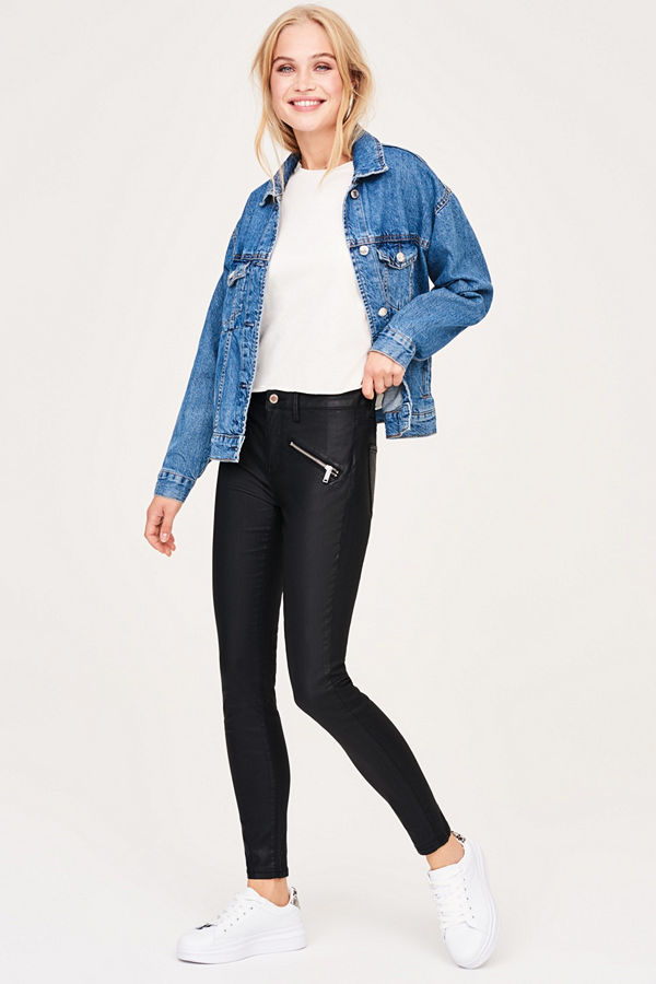 Gina Tricot Elly coatade jeans