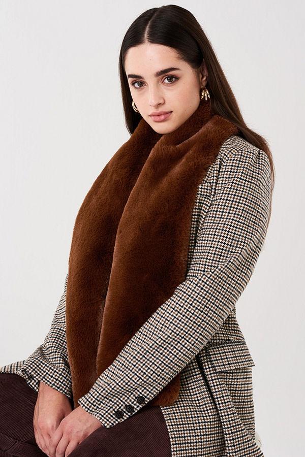 Gina Tricot Klara fur collar